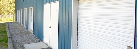 A Photo of Nelson Mini Storage, outdoor bays